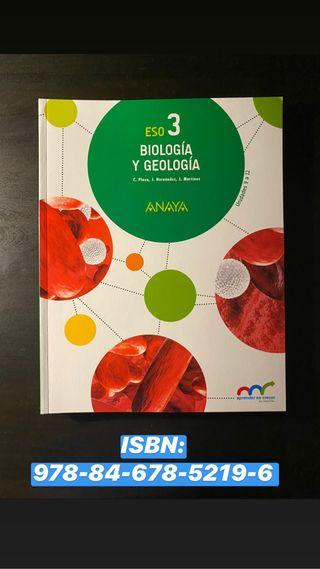 Libro de texto Biología y Geología 3 ESO