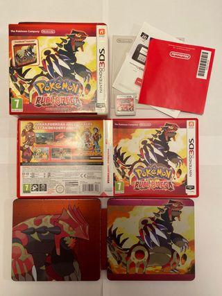 Pokemon Rubi Omega Edicion Limitada Nintendo 3Ds