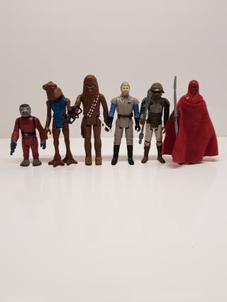 Lote Figuras Star Wars Kenner