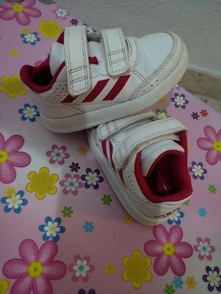 Zapatillas deporte niña adidas