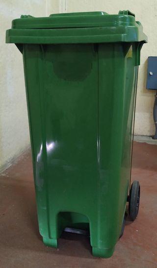 cubo contenedor basuras 120L