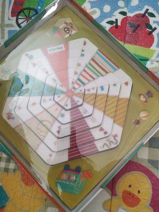 Juego puzzle circo lilliputiens