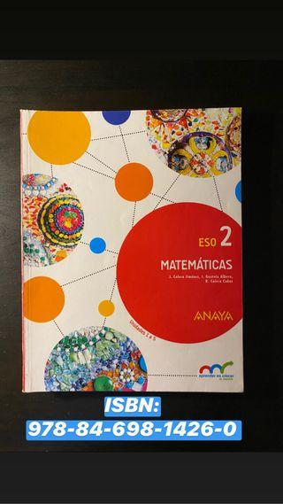 Libro de texto Matemáticas 2 ESO
