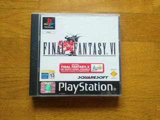 Final Fantasy VI . Ps1 PAL