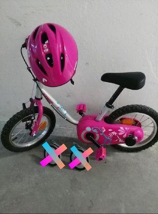 Bicicleta Oxelo 3-5 años