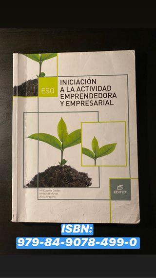 Libro Iniciación a la Actividad Emprendedora 3 ESO
