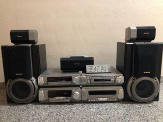 Equipo de música Technics, modelo SC-EH760