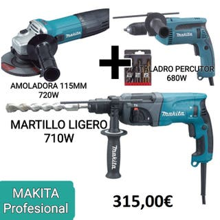 KIT MAKITA PROFESIONAL