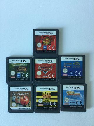 7 juegos DS