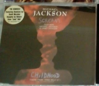 Michael Jackson Scream cd single