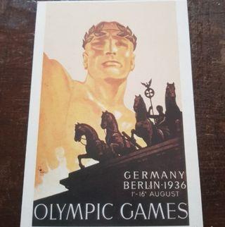 Colección postales de los Juegos Olímpicos