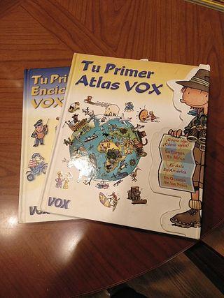 lote dos libros VOX
