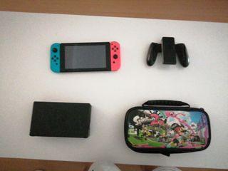 Nintendo switch + funda