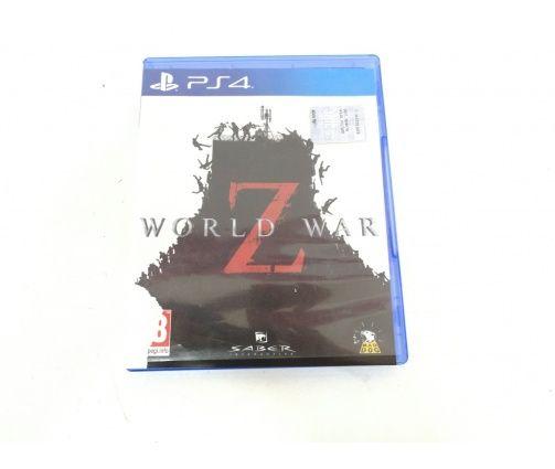 Videojuego Ps4 World War Z