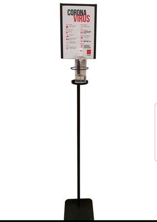 Columna con dispensador hidroalcoholico 2004001