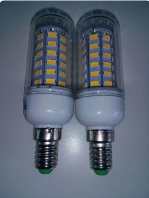 Bombillas LED E14 48LEDs bajo consumo Cold White