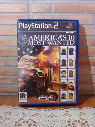 America's 10 Most Wanted PS2