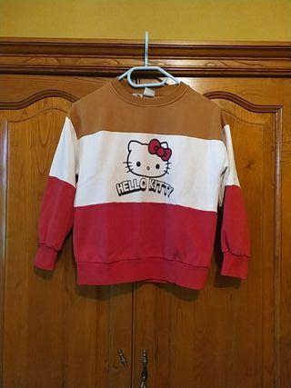 Sudadera Hello Kitty Zara 9 años