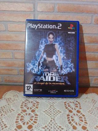 Tomb Raider el ángel de la oscuridad