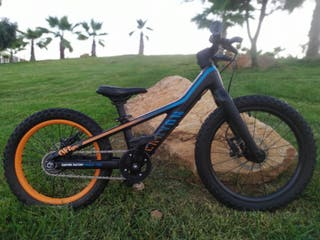 "Bicicleta niños Canyon. 18"",16"",Scott, Orbea,Trek"