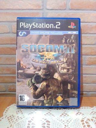 Socom II U.S Navy Seals Ps2