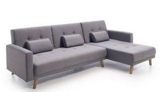 Sofa Cama - Chaise longue - Gris