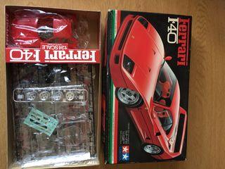 Ferrar F40 Tamiya maqueta coche 1/24 nuevo montar