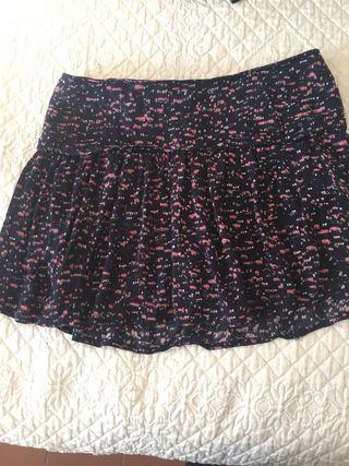minifalda pantalon