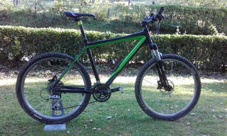 Bicicleta MTB + Casco RH+ VOX