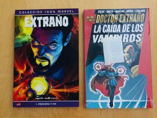 Doctor Extraño Marvel Panini 2 tomos