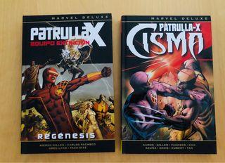Patrulla X Marvel de Luxe Panini 2 tomos