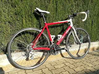 bicicleta de carretera aluminio