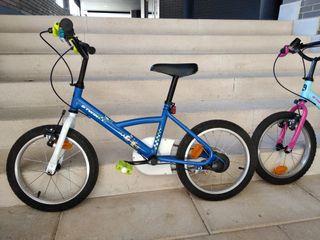 "Bicicleta de niño/a de 16"""