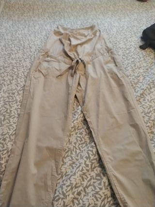 Pantalón premamá. Talla 40 Hm