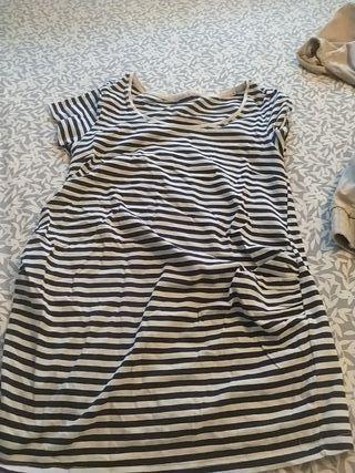 Camiseta premamá, talla M