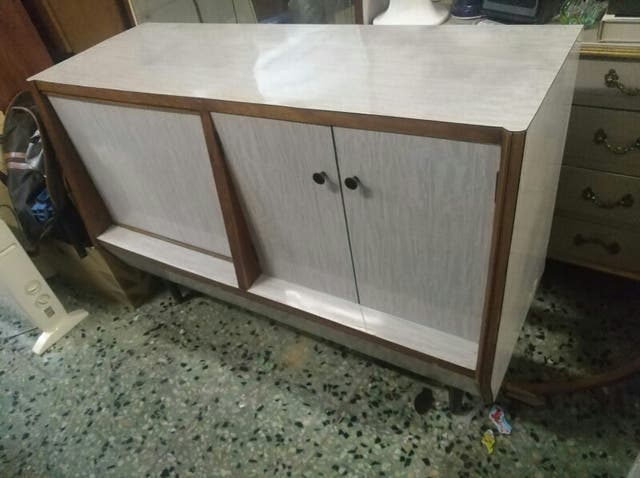 mueble bar vintage