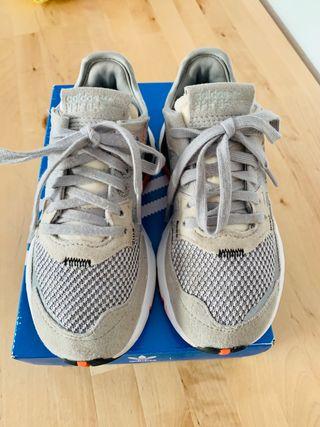 Zapatillas niño o niña Adidas Nite Jogger nº28