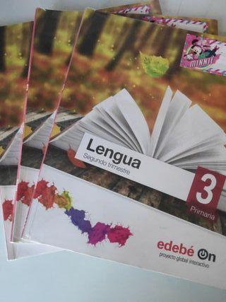 Libro de texto. Lengua Tercero Primaria Edebe