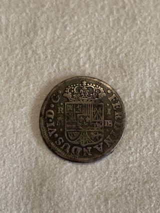 1 real 1756 Fernando VI