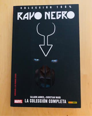 Rayo Negro Marvel Panini. Tomo unico.