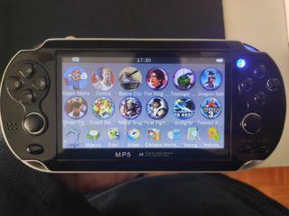 Consola portatil retrp juegos arcade 8gb mp4 fm