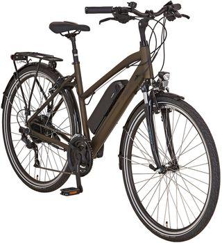 "Bicicleta eléctrica paseo motor Aeg 36"""