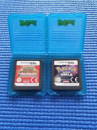 Pack juegos Pokémon ds
