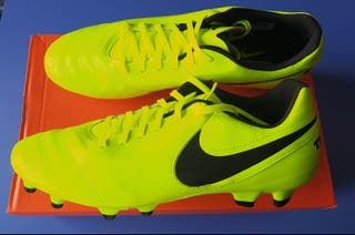 Botas de fútbol Nike Tiempo Geni. Leather Fg n°44