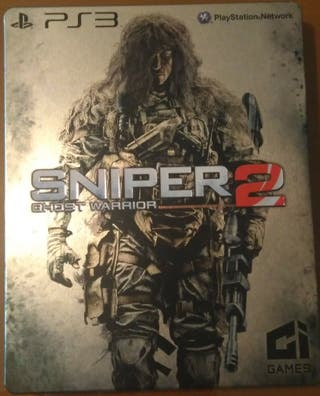 Juego PS3 SNIPER GHOST WARRIOR 2 E.EDITION