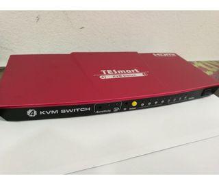 Switch HDMI 4K - 4 Entradas Y 1 Salida