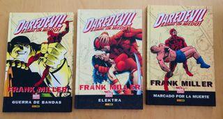 Daredevil de Frank Miller. Panini 3 tomos.