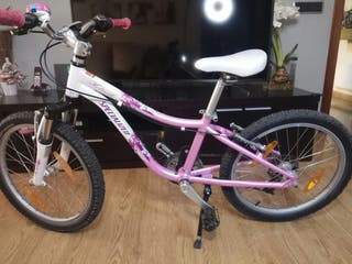 vendo bici niña specialized hotrock