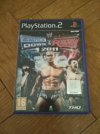 PlayStation 2 smack down vs raw 2011