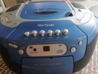 RADIO CD CASETTE MX ONDA funciona todo